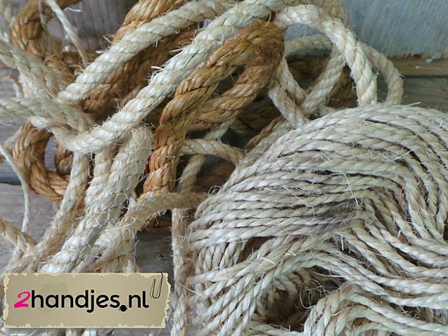 knutelen met touw