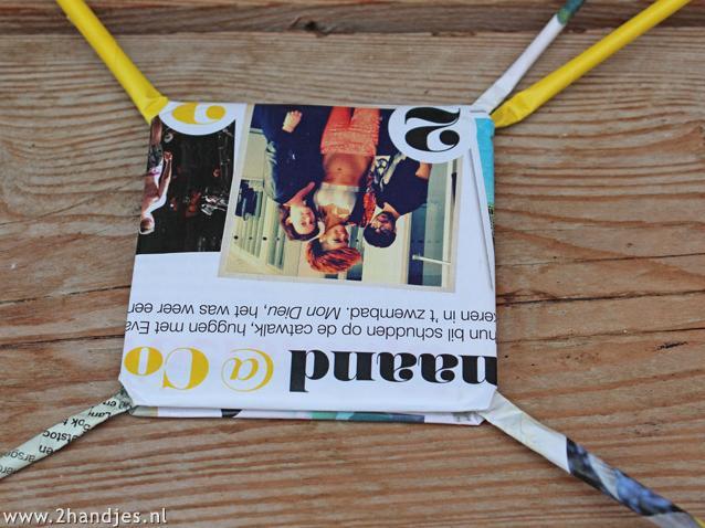 zelfmaak ideetje waxinelichtjes van tijdschriften thuis maken