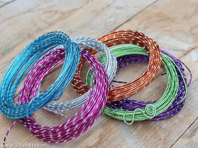 alumniumdraad voor hobby ringen knutselen
